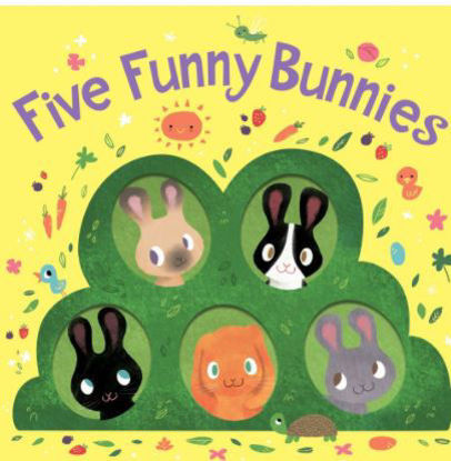 Picture of Five Funny Bunnies (Board Book)
