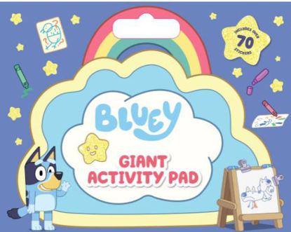 图片 Bluey: Giant Activity Pad Includes over 70 Stickers
