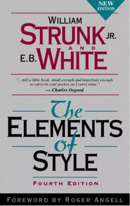 图片 The Elements of Style