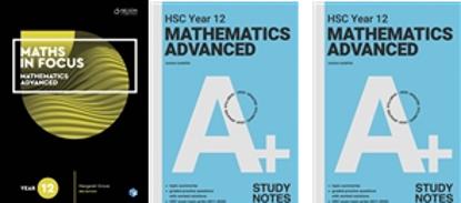 图片 NSW Mathematics Year 12 Advanced Student Pack