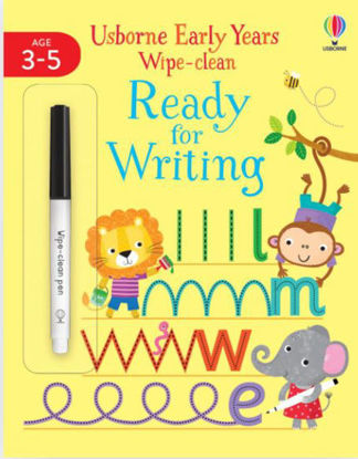 图片 Early Years Wipe-Clean Ready for Writing: Age 3+