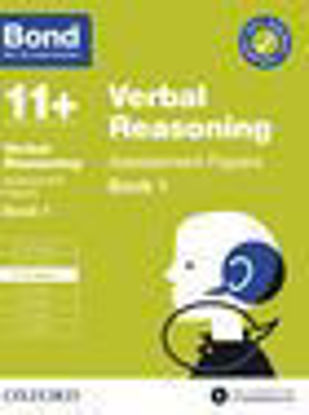 Picture of Bond 11+ Verbal Reasoning Assessment Papers with Answer Support 9-10 Book 1