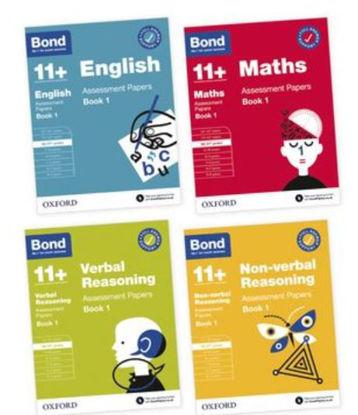 Picture of BOND 11+ English Maths Non-verbal Reasoning 10-11 Years Bundle