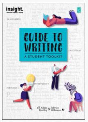 图片 Guide to Writing: A student toolkit