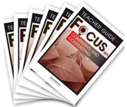 图片 Focus on Reading Level C Teacher Books Set of 6