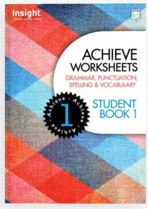 图片 Achieve Worksheets Student Book 1