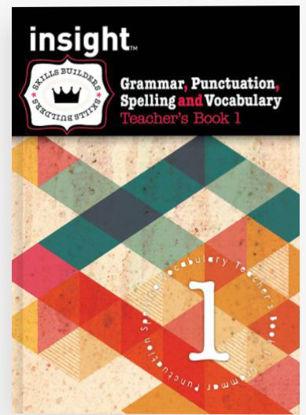 图片 Insight Skills Builders Grammar, Punctuation, Spelling and Vocabulary Teacher's Book 1