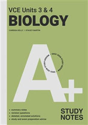 图片 A+ Biology Study Notes VCE Units 3 & 4