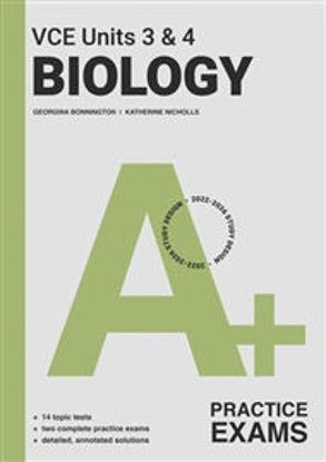 图片 A+ Biology Practice Exam VCE Units 3 & 4