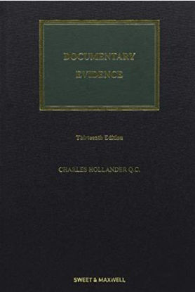 Picture of *ZZ*Documentary Evidence 13th edition