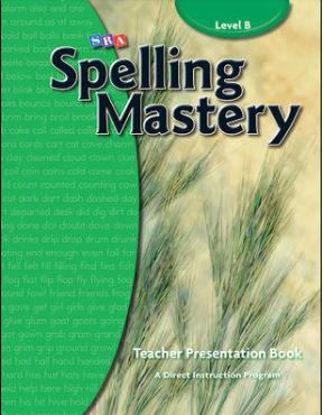 图片 Spelling Mastery Level B, Teacher Materials