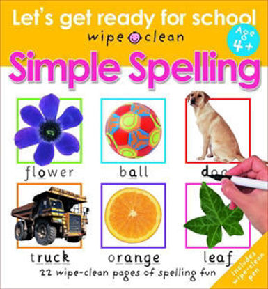 图片 Simple Spelling Let's Get Ready For School