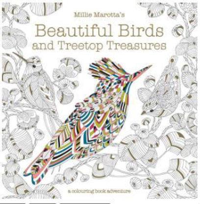 图片 Millie Marotta's Beautiful Birds and Treetop Treasures A Colouring Book Adventure
