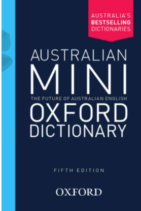 Picture of Australian Mini Oxford Dictionary 5E: Ages: Adult