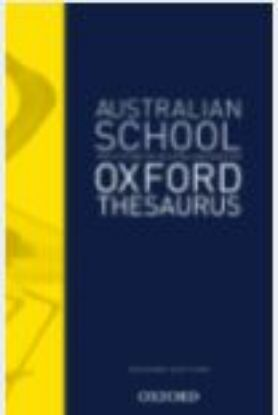 Picture of The Australian School Oxford Thesaurus