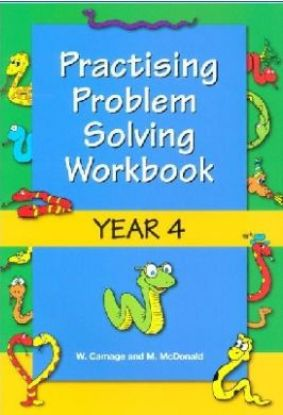 Picture of Practising Problem Solving Workbook Year 4