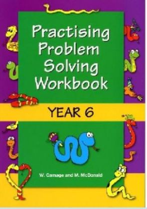 Picture of Practising Problem Solving Workbook Year 6
